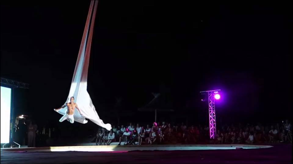 cirkadance spectacle esterel caravaning