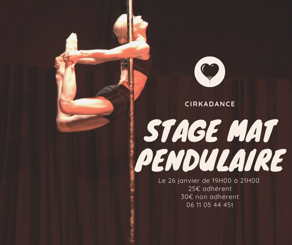 stage mat pendulaire